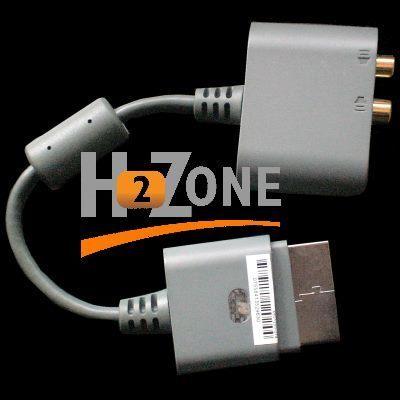 Conector salida de audio para Xbox 360