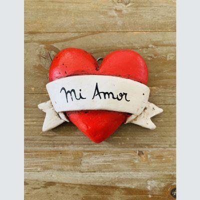 Corazón Rojo Cinta