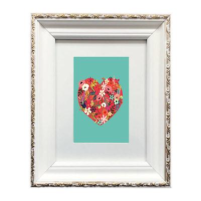 Colección Corazón Flores Colores1