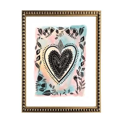 Corazón en Colores Pasteles1