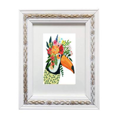 Colección Animales Flores Tucán1