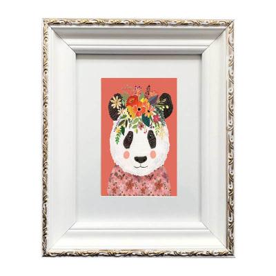 Colección Animales Flores Panda1