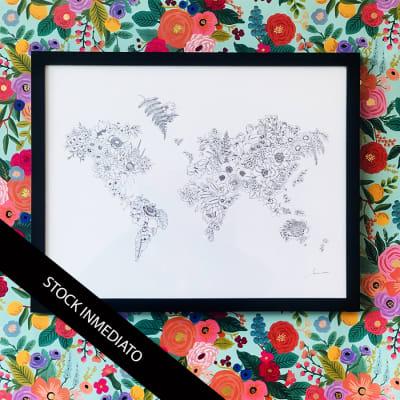 Mapa de Flores Dibujo1