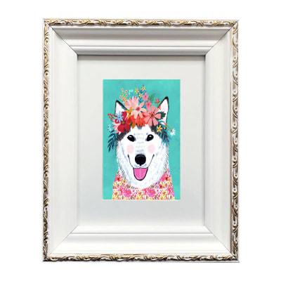 Colección Animales Flores Siberian Husky1