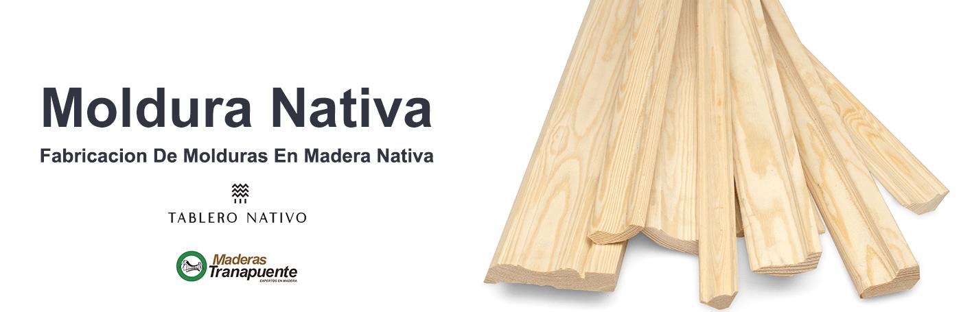 ¿Quieres Hacer Moldura en Madera Nativa? , Contáctanos CLIC Aquí
