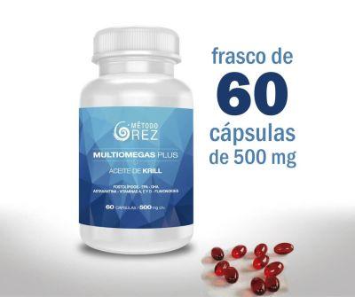 MULTIOMEGAS PLUS - Krill Oil - 500mg - 60 cápsulas1