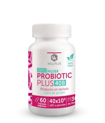 PROBIOTIC PLUS 40B MUJER - Probióticos 40 billones - 60 cápsulas1