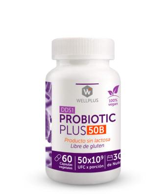 PROBIOTIC PLUS 50B - Probióticos 50 billones - 60 cápsulas1