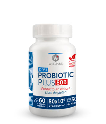 PROBIOTIC PLUS 80B - Probióticos 80 billones - 60 cápsulas1