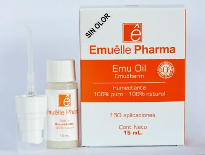 EMUELLE PHARMA - Aceite de Emú - Sin Olor - 15mL1
