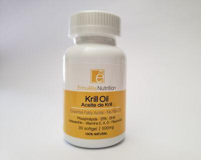 Emuêlle Nutrition - Krill Oil - 500mg - 30 cápsulas1