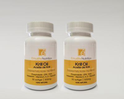 Emuêlle Nutrition - Krill Oil - 500mg - 60 cápsulas2