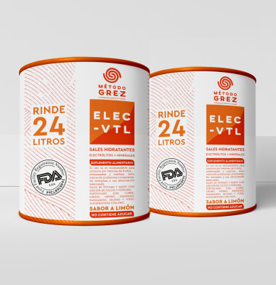 Promoción: 2 x ELEC-VTL - Electrolitos & Minerales - Sin Azúcar - 600gr 1
