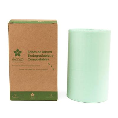 Bolsas de Basura 25 L Biodegradables y Compostables x 50 unid.2