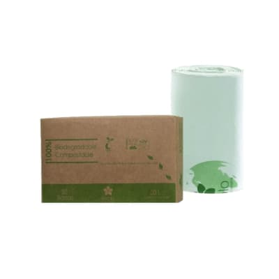 Bolsas de Basura 50 L Biodegradables y Compostables x 50 unid.2