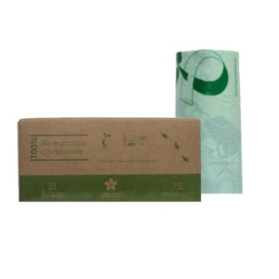 Bolsas de Basura 75 L Biodegradables y Compostables x 25 unid.2