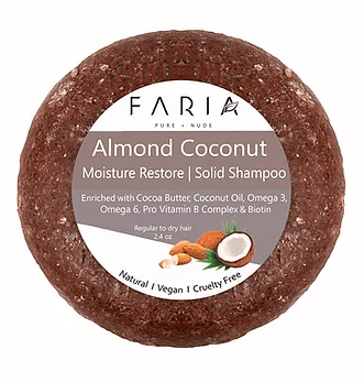 Almond Coconut Solid Shampoo1