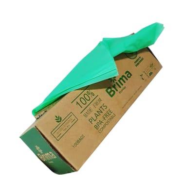 Bolsas de Basura 30 L Biodegradables y Compostables x 50 Und1