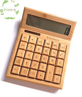 Calculadora Solar de Bambú1