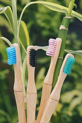 Cepillo de dientes de bambú con cabezal intercambiable5