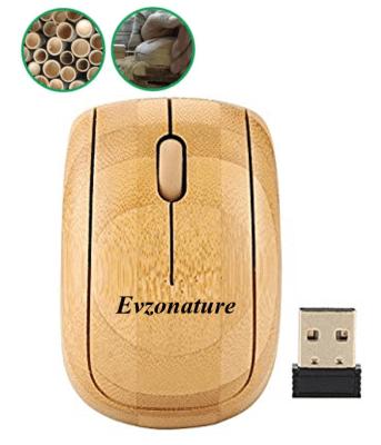 Mouse Inalámbrico de bambú1