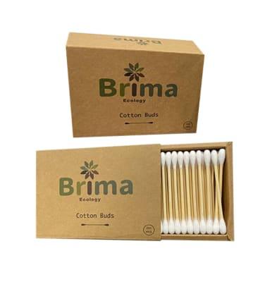 Hisopos de Bambú BRIMA X 200 Unid.1