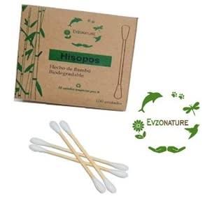 Hisopos de Bambú x 100 unid.1