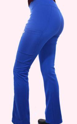 Pantalón Mujer Flex Pro M.Ot Liso Azul Rey 5