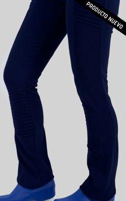 Uniforme Clínico Pantalón Mujer Elasticado Flex Alforza1