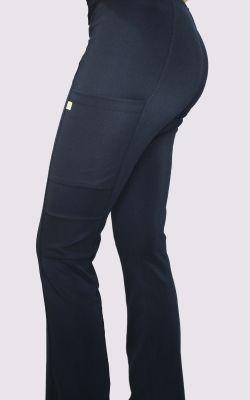 Pantalon Mujer Elasticado Flex Pro Azul Marino1
