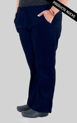Pantalon Mujer Cargo A.F Red Birdy Azul Marino 1