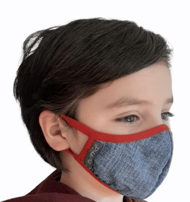 Mascarilla Antifluidos Niños Jeans1