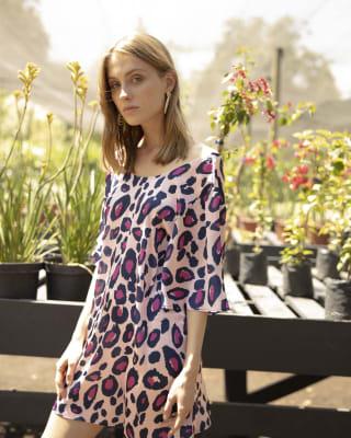 Vestido Gretta Pink Leopard1