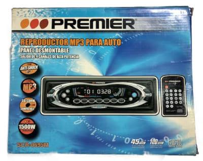 RADIO AUTO PREMIER MP3 CONTROL REMOTO1