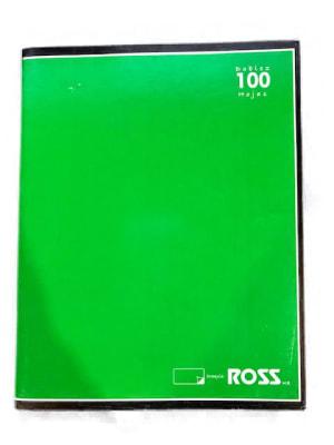 CUADERNO DOBLEZ CROQUIS 100 HJS 15x19.5 CM ROSS1