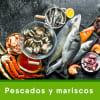pescados y mariscos congelados
