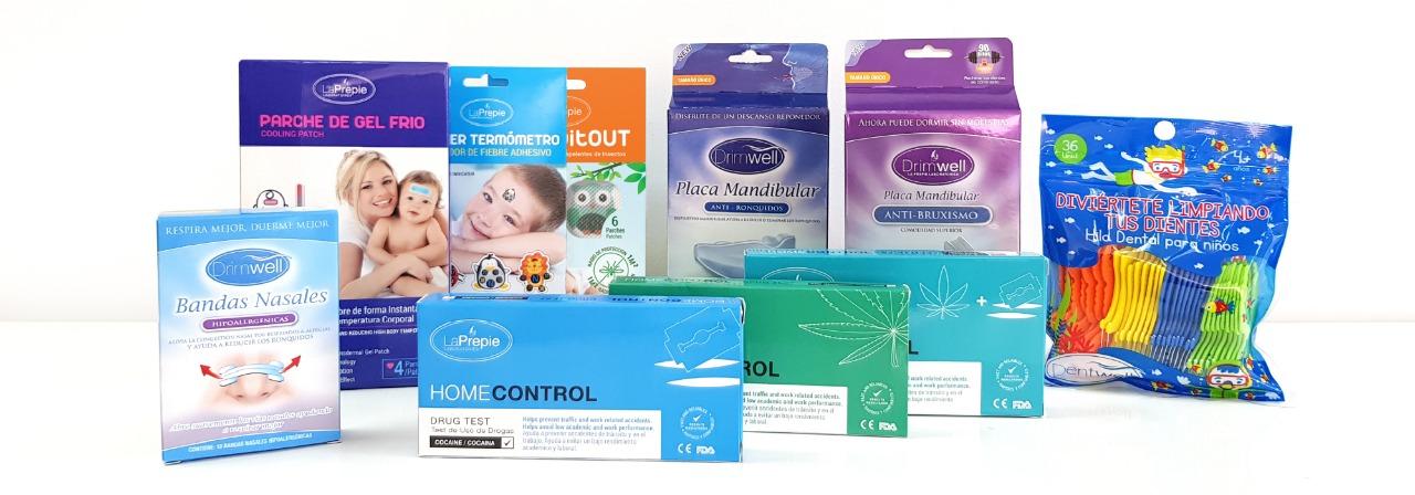 placa-bruxismo-parche-gel-frio-sticker-termometro-bandas-nasales-hilo-dental-niños-test-droga