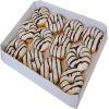 Bandeja donuts relleno vainilla 12 un1