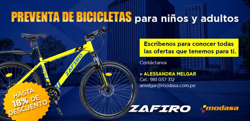 Bicicletas Zafiro