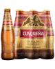 CERVEZA CUSQUEÑA DORADA GOLDEN BOTELLA X 330 ML PACK X 6 UNID1