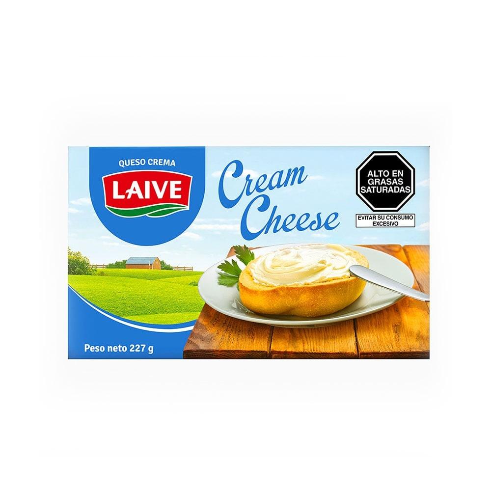 Queso Crema Laive Cream Cheese Caja 227 Gr