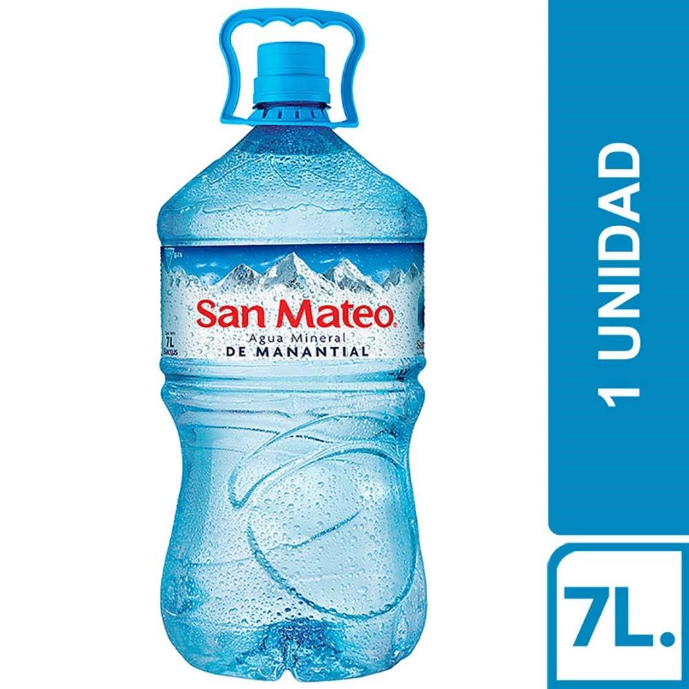 Agua San Mateo Sin Gas Bidon 7 L