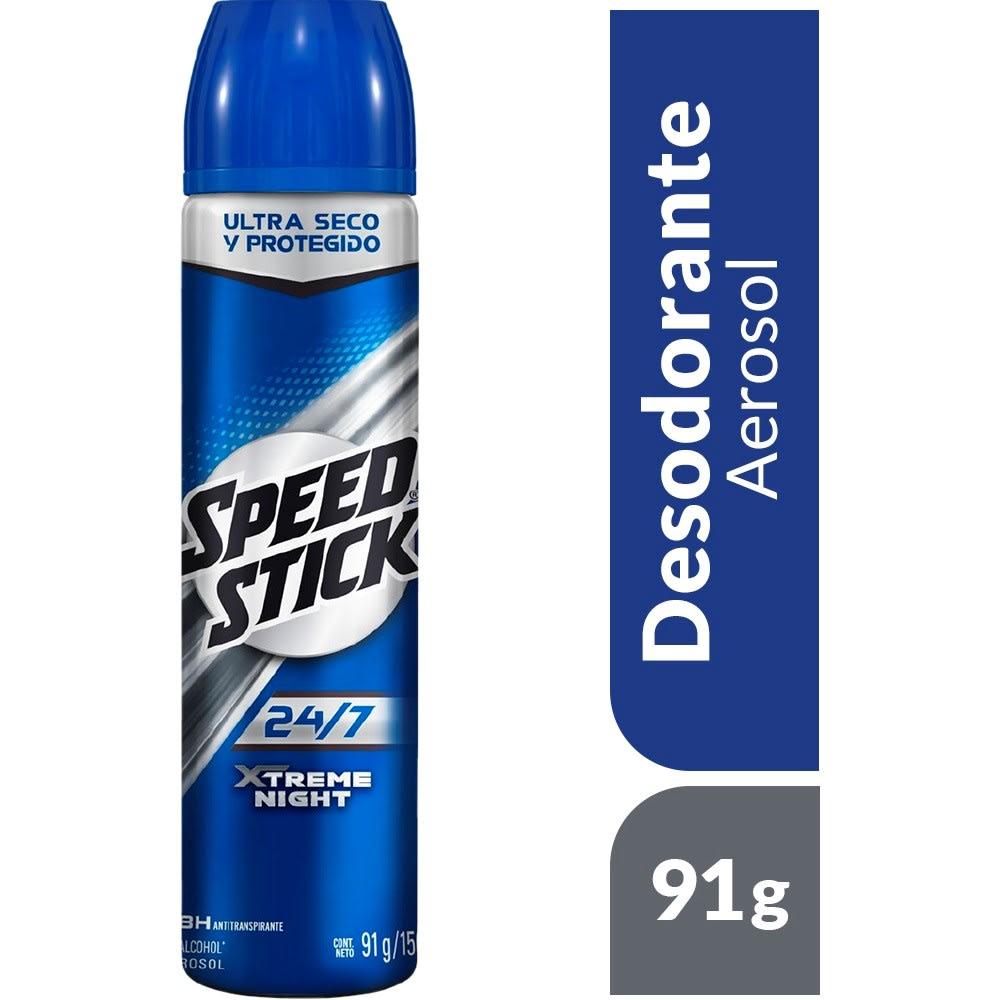 Desodorante Aerosol Para Hombre Speed Stick Xtreme Night 91 Gr
