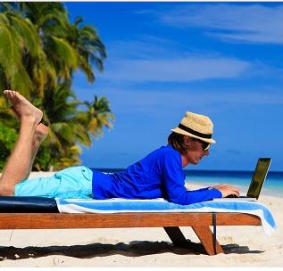 Consejos para gestionar tu negocio a distancia en Vacaciones