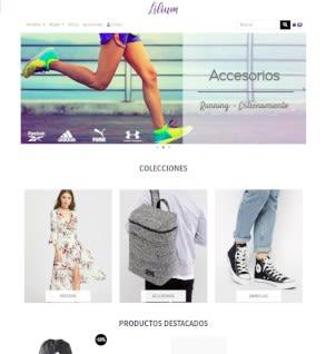 Plantilla de ropa y moda