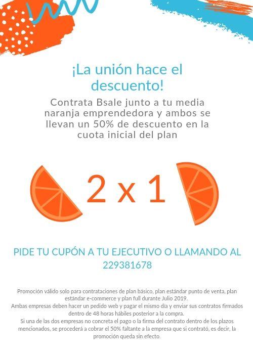 Promoción Julio - Tu media naranja