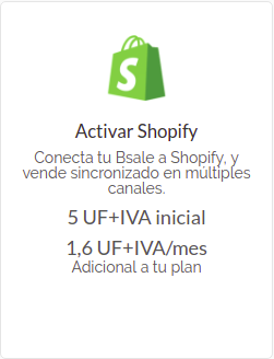 Shopify bsale