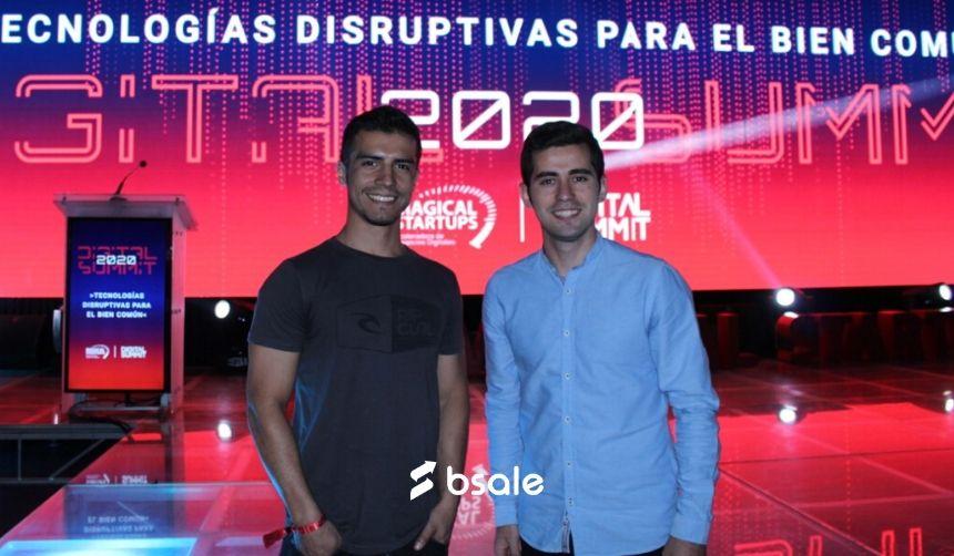 Representantes de Bsale: Nicolás Bernasconi y Carlos Unda