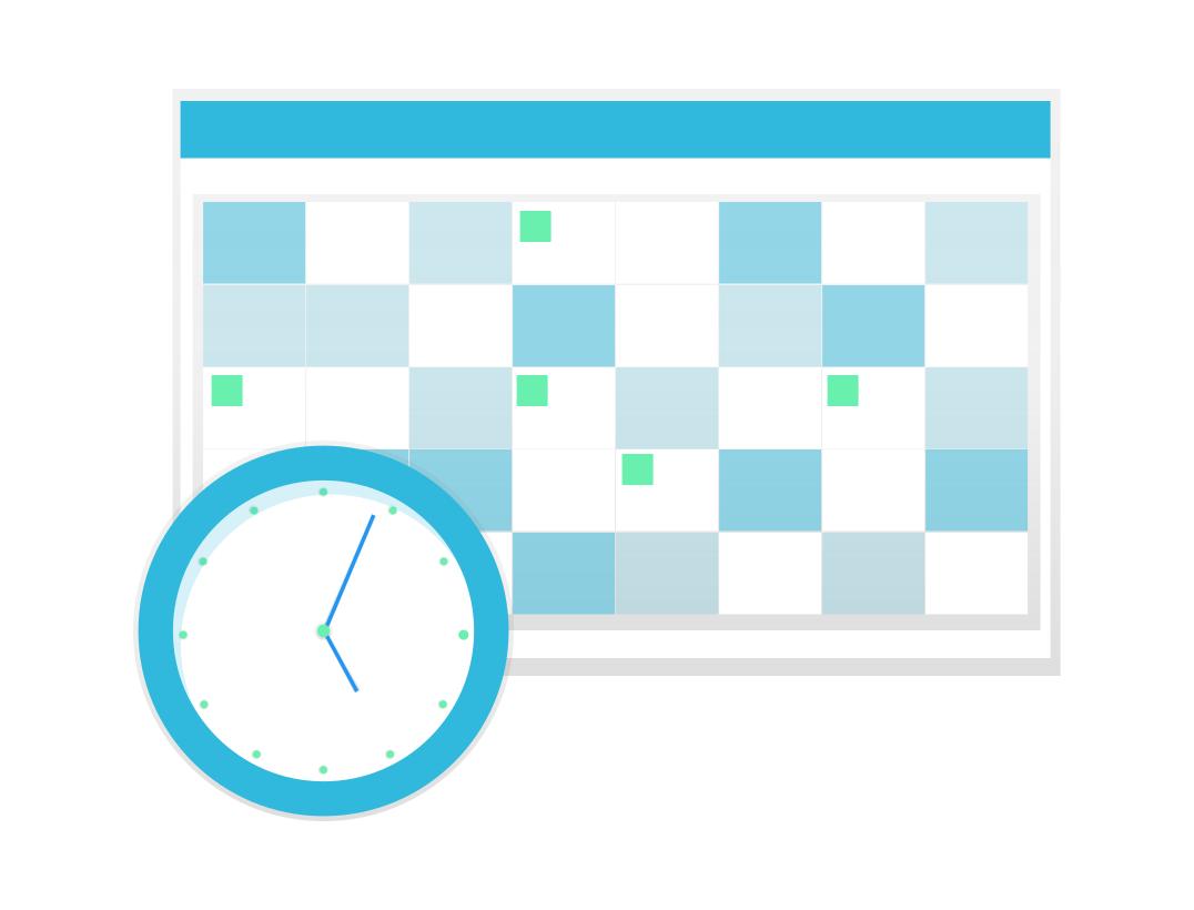 Controla el tiempo de las reuniones