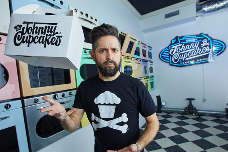 Storytelling Johnny Cupcakes